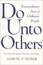 Cover of: Do Unto Others