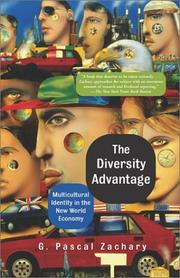 Cover of: The Diversity Advantage | G. Pascal Zachary