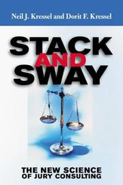 Cover of: Stack and sway