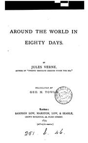 Cover of: Around the world in eighty days, tr. by G.M. Towle