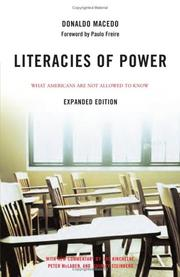 Cover of: Literacies of Power