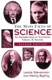Cover of: The many faces of science | Leslie Forster Stevenson