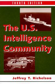 Cover of: U.S. intelligence community | Jeffrey Richelson