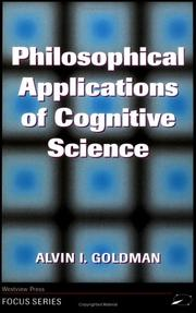 Philosophical Applications of Cognitive Science (Focus Series)