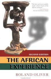 Cover of: The African experience
