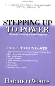 Cover of: Stepping Up to Power | Harriet F. Woods