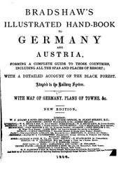Cover of: Bradshaw's illustrated hand-book to Germany by George Bradshaw