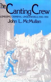 Cover of: canting crew | John L. McMullan