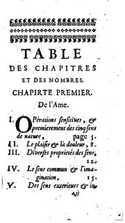 Cover of: Introduction a la philosophie, ou, De la connoissance de Dieu et de soi-mesme