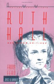 Cover of: Ruth Hall and other writings