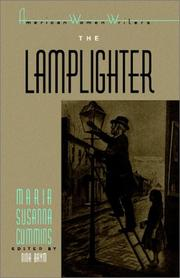 Cover of: The lamplighter | Maria S. Cummins