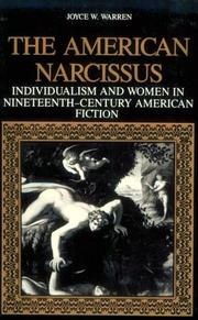Cover of: The American Narcissus | Joyce W. Warren