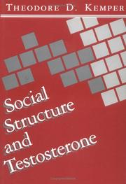 Social structure and testosterone