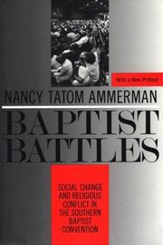 Cover of: Baptist battles