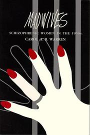 Cover of: Madwives: Schizophrenic Women in the 1950's