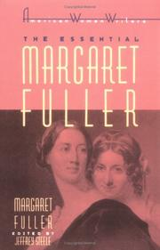 Cover of: The Essential Margaret Fuller by Margaret Fuller (American Women Writers Series)