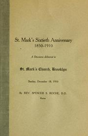 Cover of: St. Mark