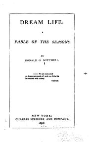 Cover of: Dream Life: A Fable of the Seasons