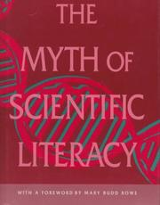 Cover of: The myth of scientific literacy | Morris H. Shamos
