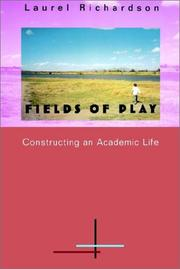 Cover of: Fields of play