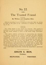 Cover of: trusted friend ... | William Giles