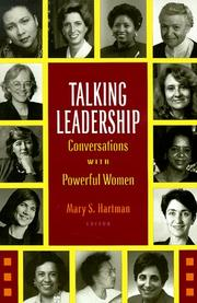 Cover of: Talking Leadership