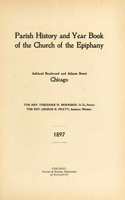 Parish history and year book of the church of the Epiphany