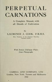 Cover of: Perpetual carnations