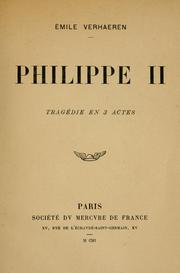 Cover of: Philippe II