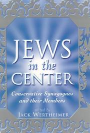 Cover of: Jews in the Center | Jack Wertheimer
