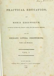 Practical education by Maria Edgeworth