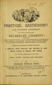 Cover of: Practical gastronomy and culinary dictionary