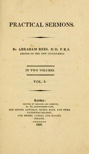Practical sermons by Abraham Rees