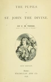 Cover of: The pupils of St. John the Divine