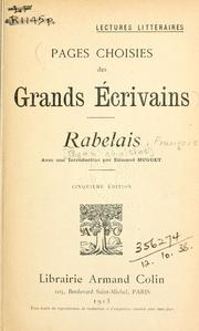 Cover of: Rabelais