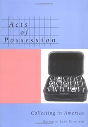 Cover of: Acts of Possession | Leah Dilworth