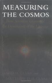 Cover of: Measuring the Cosmos |