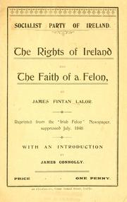 Cover of: The rights of Ireland