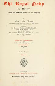 Cover of: The royal navy