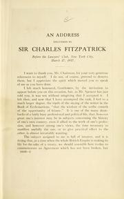 Cover of: Rush-Bagot agreement. | Fitzpatrick, Charles Sir