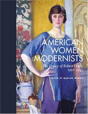 Cover of: American Women Modernists | Sarah Burns