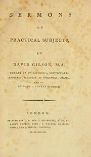 Cover of: Sermons on practical subjects