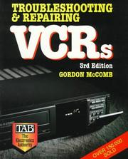 Cover of: Troubleshooting and repairing VCRs