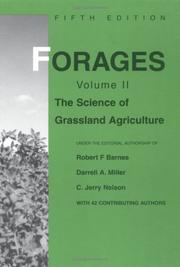 Cover of: Forages |