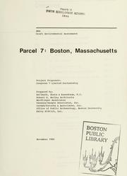Cover of: Parcel 7 : Boston, Massachusetts |