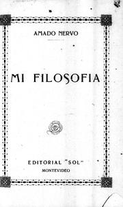 Cover of: Ideas y filosofías
