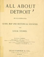 Cover of: All about Detroit | Silas Farmer
