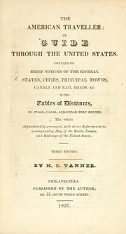 Cover of: The American traveller by Henry Schenck Tanner