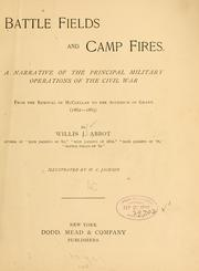 Cover of: Battle fields and camp fires. | Willis J[ohn] Abbot