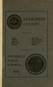 Cover of: Berkshire County... |